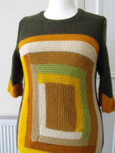 long warm sweater for women from sheep wool 1/2 by svetlanapause, $120.00