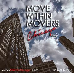 We are the ONLY movers you need to know in downtown Chicago.