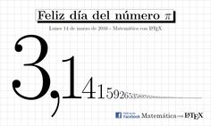 Number pi art made with LaTeX