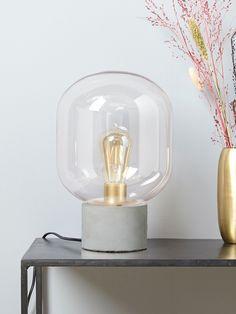 Lampe globe à poser