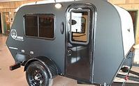These guys make near perfect campers at a great price. Rustic Trail Teardrop Campers | KODIAK STEALTH