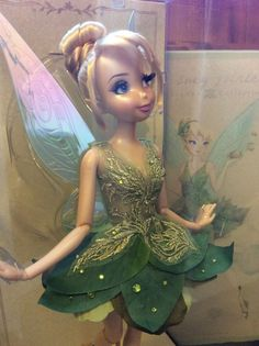 NEW Disney Store Designer Limited Edition Tinkerbell Doll Fairy RARE UK | eBay