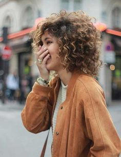 Short to Medium Curly Hair