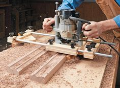 Easy to build and use, this jig lets you create custom curved moldings.