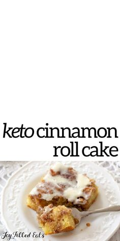This aromatic Low Carb Cinnamon Roll Cake is comforting, crave-worthy, and will feed your desires for something sweet. This cinnamon roll cake has a homemade ooey-gooey cinnamon filling and a cream cheese glaze. You won't believe it's keto, gluten-free, and grain-free!