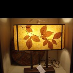 Another amazing hand crafted lamp from High Beams in Sutton, VT