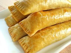Guyanese Cheese Rolls - Every weekend my family made our routine trip to Liberty Avenue in Queens, NY to purchase our Guyanese baked goods for the week. Guyana Food, Cheese Roll Recipe, Guyanese Recipes, Guyanese Bake Recipe, Trinidad Recipes, Trini Food, Cheese Straws, Indian Food Recipes, Ethnic Recipes