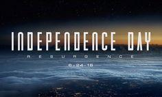 A continuação de Independence Day, que estreia no Brasil em 23 de junho de 2016, teve divulgado o seu primeiro trailer:
