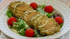 These baked chickpea and potato burger patties are super tasty on their own, with a side of salad or loaded onto a bun with all of your favorite burger toppings.  It is a softer style burger patty and is perfect for those watching their weight... it has no oil and is a tasty whole food plant