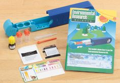 Are you planning on an outdoor field trip? Have your student toss this testing kit into a backpack and start digging deeper and learning more about the environment.