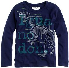 J.Crew Boys' glow-in-the-dark Iguanodon tee on shopstyle.co.uk