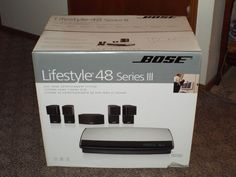 BOSE Lifestyle 48 Series III DVD Home Entertainment System Surround Sound - NEW #Bose