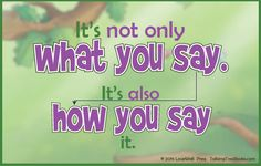 Teach kids to speak to others with respect with this printable quote.