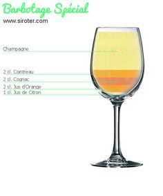★ Recette du cocktail Barbotage spécial ★ Fiche pratique, préparation, ingrédients et conseils du barman !