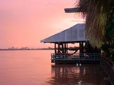 Sunset in Pnom Penh, Cambodia
