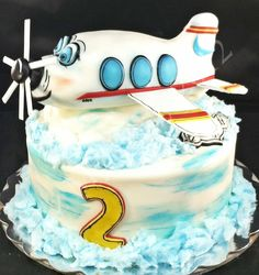 Vintage Airplane Cake Ryland birthday 2016 Pinterest Cake