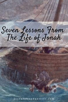 As I look at the life of Jonah, I can see so many ways that my life compares to Him. There are so many lessons from the Life of Jonah. Presence Of The Lord, Fear Of The Lord, Christian Women, Christian Life, Lessons Learned, Life Lessons, Jonah And The Whale, New Every Morning, Abundant Life