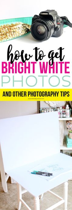 How to Get Bright White Photos and Other Photography Tips - Printable Crush Diy Fashion Photography, Photography Basics, Photography Lessons, Photoshop Photography, Photography Business, Photography Tutorials, Image Photography, Digital Photography, White Photography