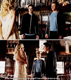 "#TVD 6x18 ""I Never Could Love Like That"" - Caroline, Tyler and Matt"