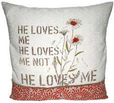 a perfect cozy pillow to remind myself when i think he forgot! :)