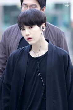 Suga ❤ BTS Arrival at KBS Music Bank #BTS #방탄소년단