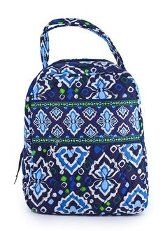 2e8c2e572b9c Lunch Bags Vera Bradley image – Vera Bradley Lunch Bunch Ink Blue Food To  Go