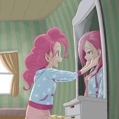 Two Sides of Pinkie — I pin this every time I see it, it's so awesome!