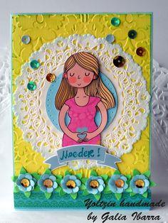 Yoltzin handmade cards: Moeder kaartje, cardmaking, Mother's card, Mama, Anna Griffin, Flowers, Papercrafts, ideas.
