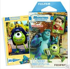 Find More Film Information about Limited Genuine Fujifilm Instax Mini 8 Film Monsters University Fuji Instant Paper For 8 50s 7s 90 25 Share SP 1 Camera 10pcs,High Quality paper high heel shoes,China paper air freshener suppliers Suppliers, Cheap paper gsm from Photography store on Aliexpress.com