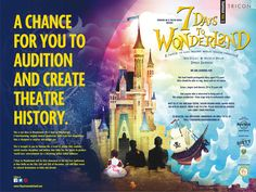 We are looking for  Alice , aged 8-13 years old Actors , singers and dancers , 18-35 years old