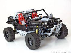 LEGO Jeep Hurricane 4x4 by Nathanael Kuipers