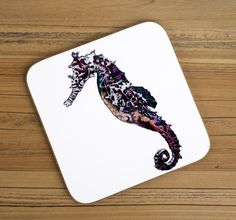 Seahorse Coaster