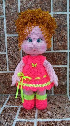Boneca de crochet