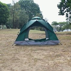 Instant Pop Up Camping Tent Family 2-4 Person Auto Tent Waterproof – Reactive Outdoor Pop Up Camping Tent, Best Tents For Camping, Backyard Camping, Backyard Hammock, Pickup Camping, Camping Items, Camping List, Camping Checklist, Outdoor Camping