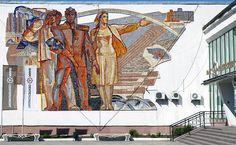 soviet murals - Google Search