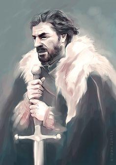 artpau:  Eddard Stark