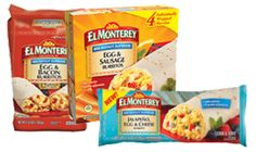 3 NEW El Monterey Product Coupons on http://hunt4freebies.com/coupons