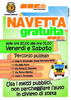 COMUNE DI BERGAMO: NAVETTA GRATUITA ATB