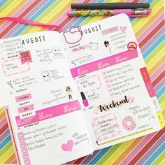 This week in my Bando agenda. I'm going to be using this for awhile. #plannerpretty81 #bandobsessed #bandoagenda #plannerlayout #colorful #pink #planneraddict #bandogirlgang #plannercommunity #plannergirl #amazeballs #browngirlsplantoo by planner_pretty81