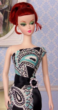 Polished Paisley for Silkstone Barbie by HankieChic on Etsy