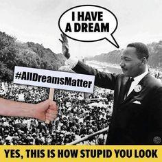 Blacklivesmatter all dreams matter