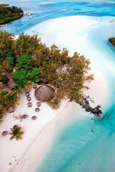 The island of Mauritius