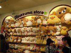Rilakkuma store #rilakkuma I want to go to there!!!!