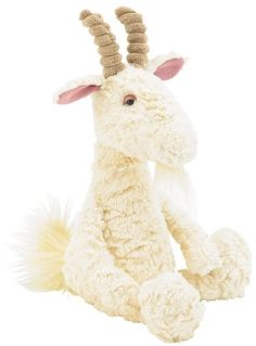 Jellycat Furryosity Goat - Free Shipping