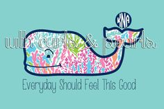 Lilly and Vineyard Vines Customizable by WithCurlsAndPearls, $3.00