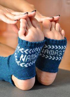 Fair Isle Yoga Socks - Knitting Patterns and Crochet Patterns from KnitPicks.com