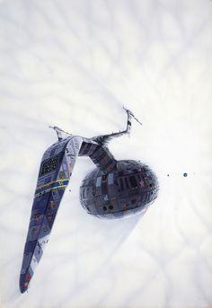 Ilustraciones de Ciencia Ficción de Peter Elson | Undermatic