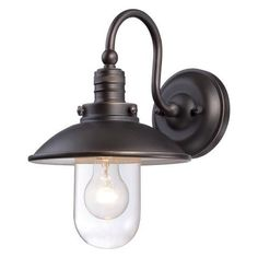 Roselawn 1-Light Outdoor Barn Light