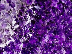 How is Amethyst Used in Feng Shui?: The deep purple colour of the amethyst resonates with the higher chakras, or energy centres of the human body - the third eye and the crown chakras. This is why amethyst is used for mediation, as well as to open the blocks to the flow of higher knowledge.