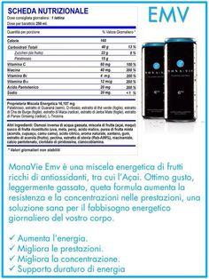 """""""L'Energy drink naturale che aiuta gli sportivi, senza aggiunta di sostanze chimiche o conservanti..."""""""